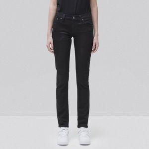 Nudie Jeans Tight Long John in Black Black